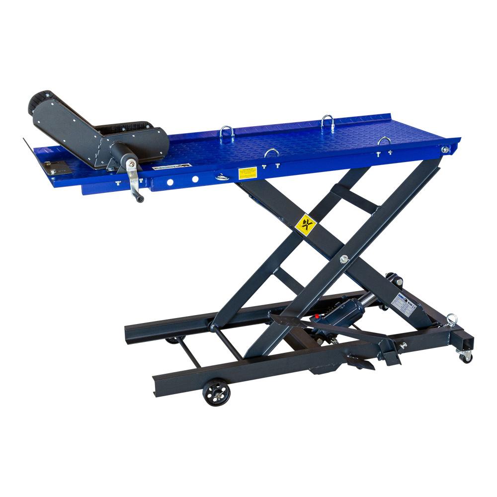 table élévatrice moto à pied hydraulique  360 kg  oil